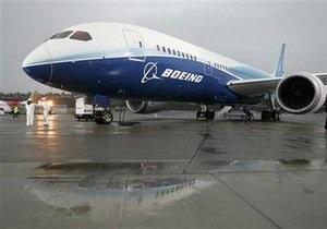 Boeing Dreamliner впервые совершил испытательный полет за пределы штата Вашингтон
