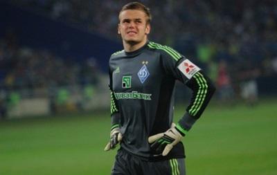Вратарь киевского Динамо может перейти в датский клуб