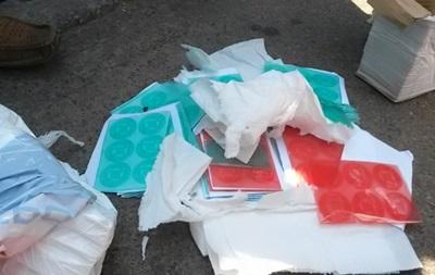 В Чернигове задержали машину с фальшивыми печатями - нардеп