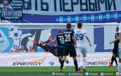 Днепр спасается от поражения в матче с Черноморцем