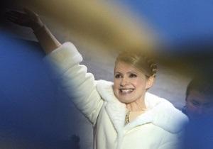 Тимошенко просит избирателей Ющенко проголосовать за нее