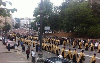 Итоги 27 июля: Глава КСУ попал в ДТП, в Киеве прошел крестный ход