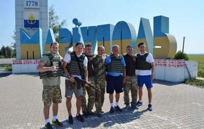 Зозуля, Федецкий и Маркевич побывали в зоне АТО