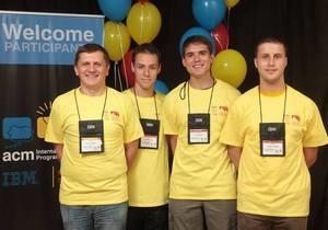 Чемпионат по пограммированию - программисты - Киевские студенты завоевали серебро на Чемпионате мира по программированию