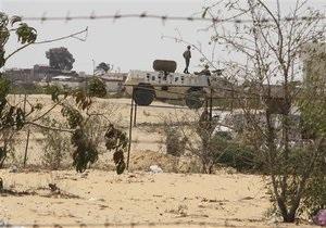 Египетские военные атаковали боевиков на севере Синая