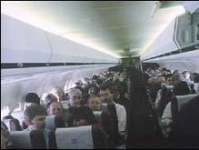 Россияне устроили пьяный дебош в самолете