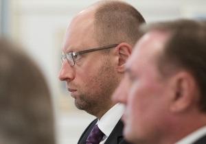 Клюев подал иск против Яценюка