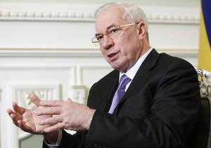 Цена на газ: Азаров рассказал, о чем договорился с Путиным
