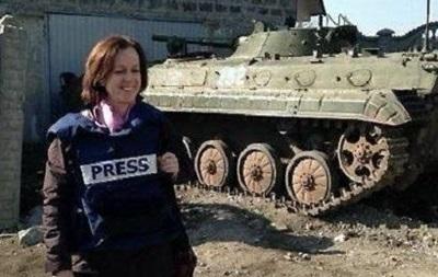За подстрекательство. Британской журналистке запретили работать в Украине