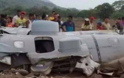 В Колумбии потерпел крушение военный самолет