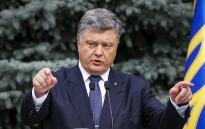 Порошенко предлагает разработать  дорожную карту  автономии Крыма