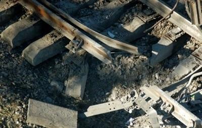 В Луганской области подорвали железную дорогу