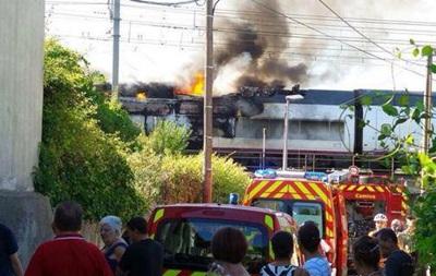 Во Франции на ходу вспыхнул локомотив скоростного поезда
