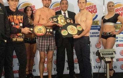 Украинский боксер уступил в Австралии и потерял титул IBF