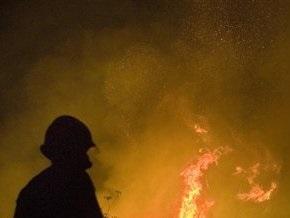 В центре Киева в здании Укрпочты произошел пожар