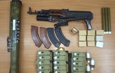 СБУ изъяла оружие  Харьковских партизан