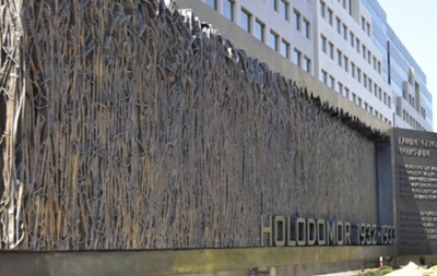 В Вашингтоне установили памятник жертвам Голодомора в Украине