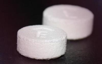 В США разрешили таблетку, изготовленную 3D-принтером