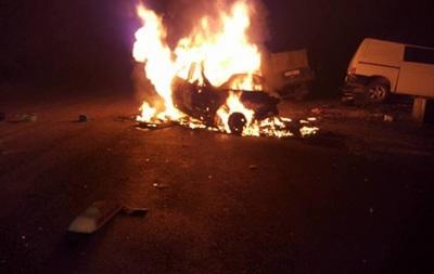 Под Одессой взорвалось такси: трое погибших