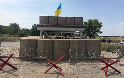 В Украине появились блокпосты по стандартам НАТО