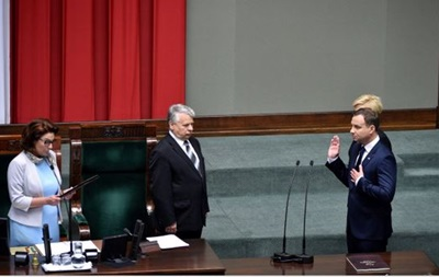Новоизбранный президент Польши принял присягу