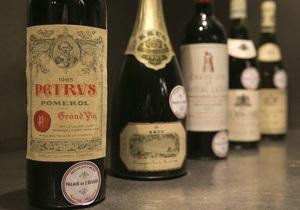 Из президентского винного погреба во Франции продано 1200 бутылок