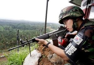 Южная Корея усиливает охрану границы с КНДР