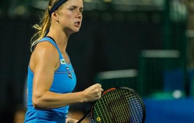 Украинка Свитолина вышла в полуфинал турнира WTA в Стэнфорде