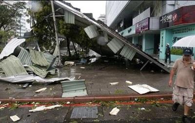 Выросло число жертв мощного тайфуна на Тайване