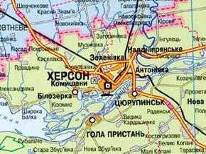 Работники Херсонского завода блокировали мост через Днепр