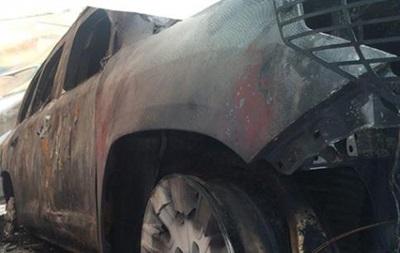 ОБСЕ обещает остаться в Донецке, несмотря на поджог авто
