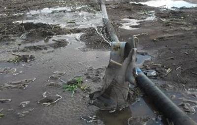 В Донецкой области пропала вода