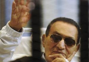 Сегодня в Египте возобновится суд над Мубараком