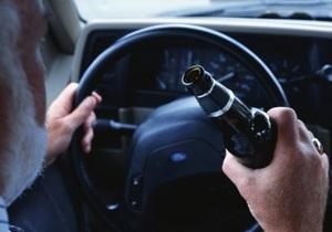 В Киеве за сутки поймали 42 нетрезвых водителя