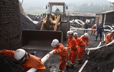 В Китае при выбросе газа на шахте погибли десять человек