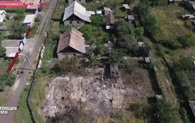 Беспилотник снял масштабные разрушения в Горловке