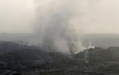 В Китае на складах порта раздались новые взрывы