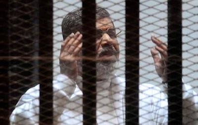 Защита Мурси обжаловала смертный приговор