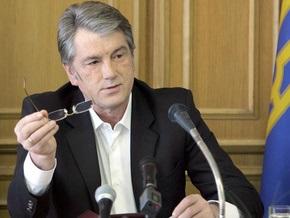 Ющенко заявил, что Кабмин не выполнил обязательств по ликвидации последствий наводнения