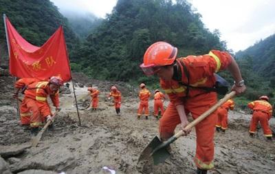 В Китае жертвами оползня стали семь человек