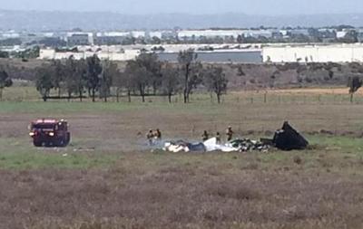 В Калифорнии столкнулись два частных самолета: три человека погибли