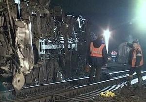 В России поезд сошел с рельсов из-за подрыва
