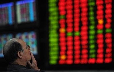 На фондовом рынке Китая очередной обвал
