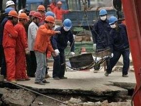Обрушение туннеля в Китае: число жертв увеличилось до семи человек