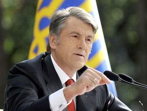 Ющенко призвал журналистов не думать о зарплатах и должностях