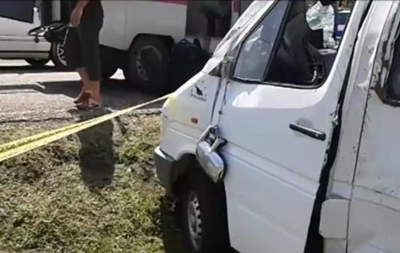 В Грузии в ДТП попал автобус с украинцами - СМИ