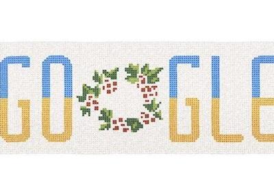 Google выпустил дудл ко Дню Независимости Украины