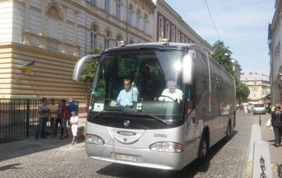 Шахтер - Рапид: Австрийский клуб поселился в центре Львова