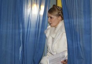 ЦИК объяснил, где должна голосовать Тимошенко