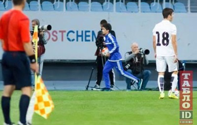 Директор академии Динамо: Сын Порошенко серьезно относится к футболу